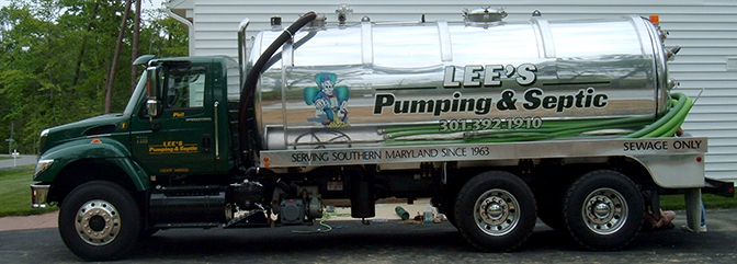 Lees Pumping and Septic Service | Southern MD St Marys County ...